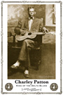 Charley Patton and Blues poster